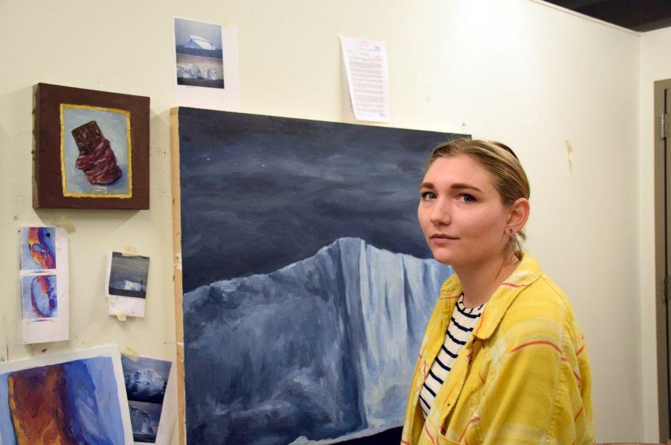Natalie Klett (Post-Bacc '19).