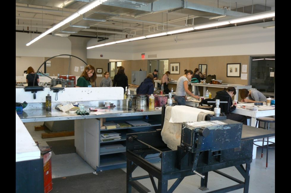 Print Shop, Samuel M.V. Hamilton Building