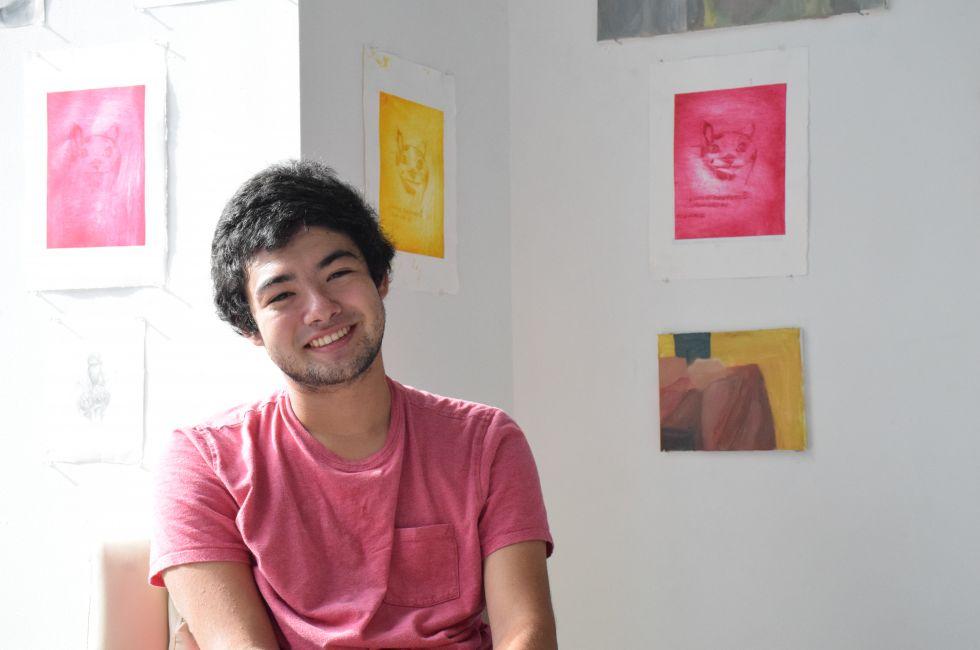 Jake Weinstein, a PAFA Summer Academy student.
