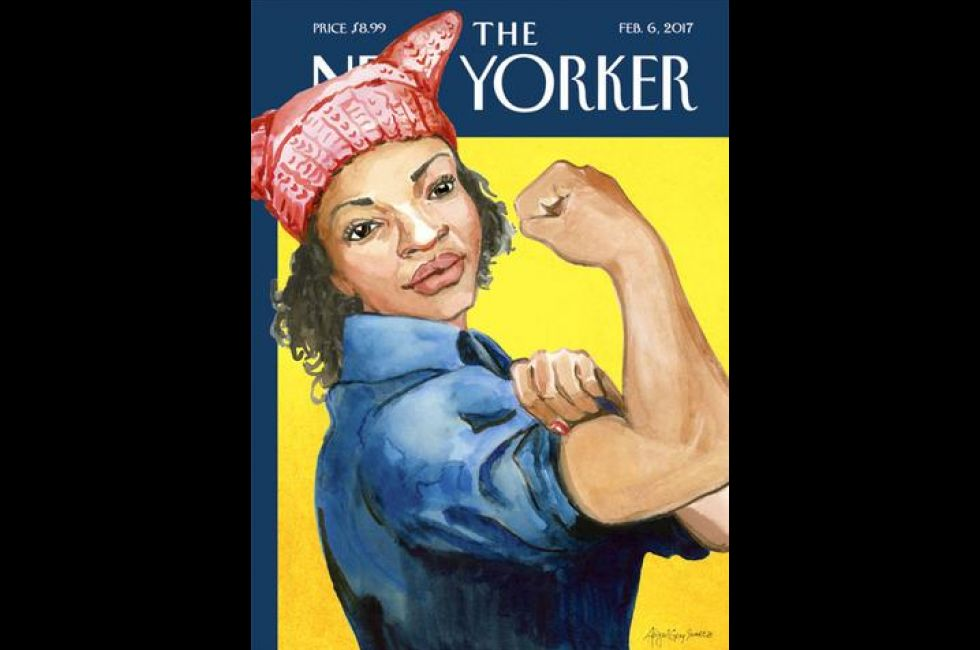 """Abigail Swartz's """"Rosie the Riveter"""" cover for the New Yorker"""