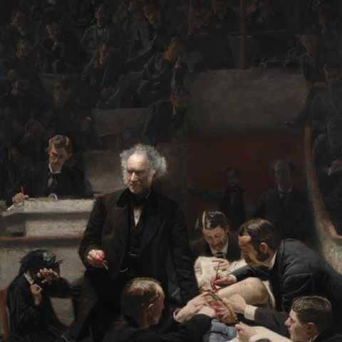 "Thomas Eakins, ""Portrait of Dr. Samuel D. Gross (The Gross Clinic)"" (1875)"