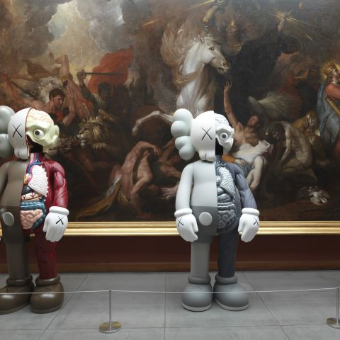 KAWS at PAFA