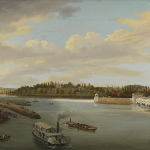 thomas birch, fairmount water works