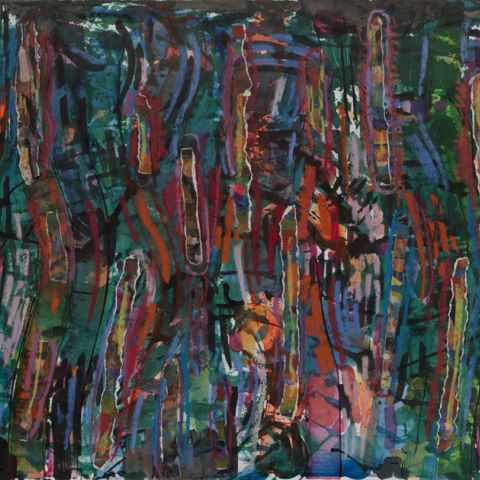 "David Clyde Driskell, ""Flowing Like a River"" (1996-97)"