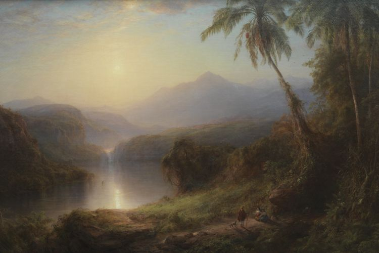 Valley of Santa Ysabel, New Grenada by Frederick Edwin Church
