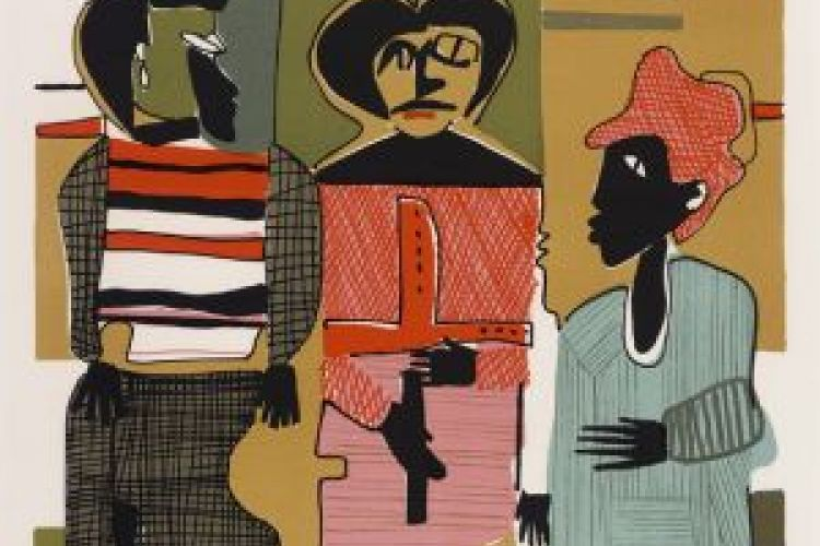 Firebirds Romare Bearden, 1979