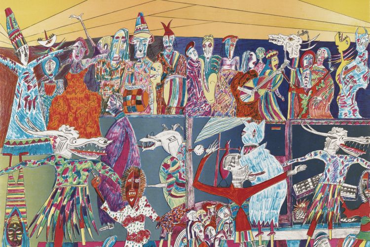 Jonkonu Festival, by Vincent Smith, 1996